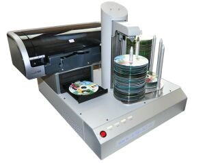 Photo de Robot de duplication CD/DVD Hurricane 2 avec imprimante Excellent Pro