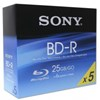 Picture of Blu-ray BD-R Sony 25GB ink weiss 6x im Slimcase (5 Stk)