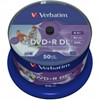 Picture of DVD+R 8.5GB Verbatim 8x Inkjet weiss 50er CakeBox